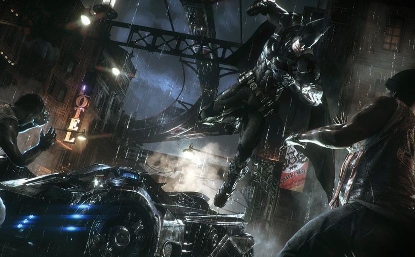 蝙蝠侠:阿卡姆骑士3DM汉化补丁