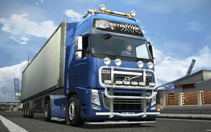 欧洲卡车模拟2沃尔沃客车MOD