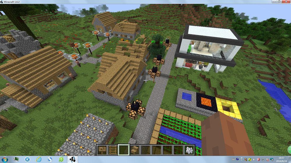 我的世界改造村庄mod