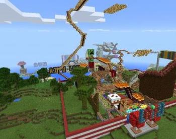 大型游乐园地图