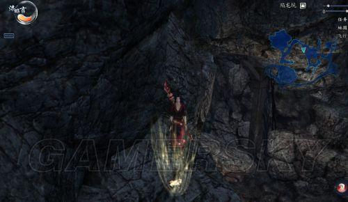 仙剑6全地图抓猫图文攻略陷龙坑