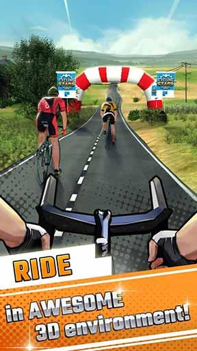 明星自行车赛 全明星解锁版v1.1.1截图0