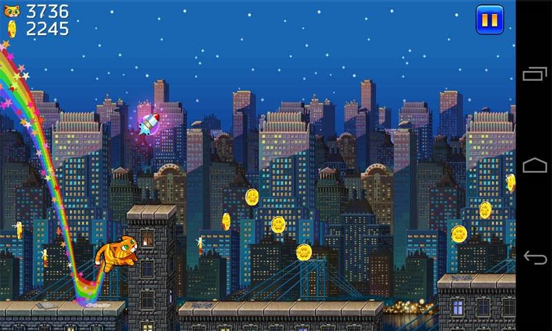 城市猫超级玛丽版v1.2截图2