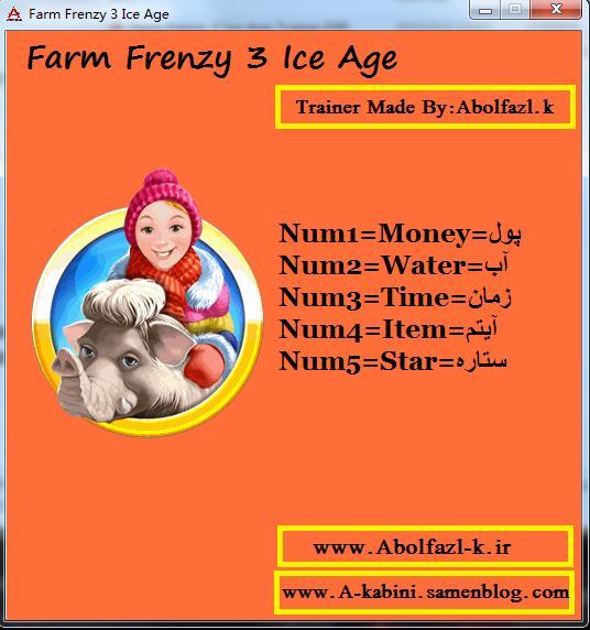 疯狂农场3冰河时代存档修改器+5