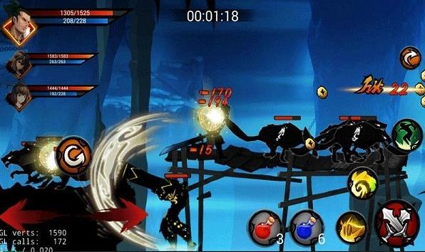 狼人格斗:杀破狼 内购破解版_截图3