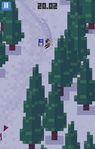 雪人山滑雪v1.0.1_截图0