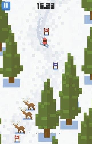 雪人山滑雪v1.0.1_截图2