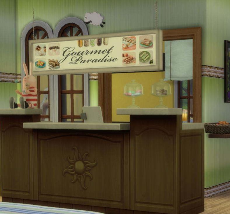 模拟人生4温馨面包店MOD