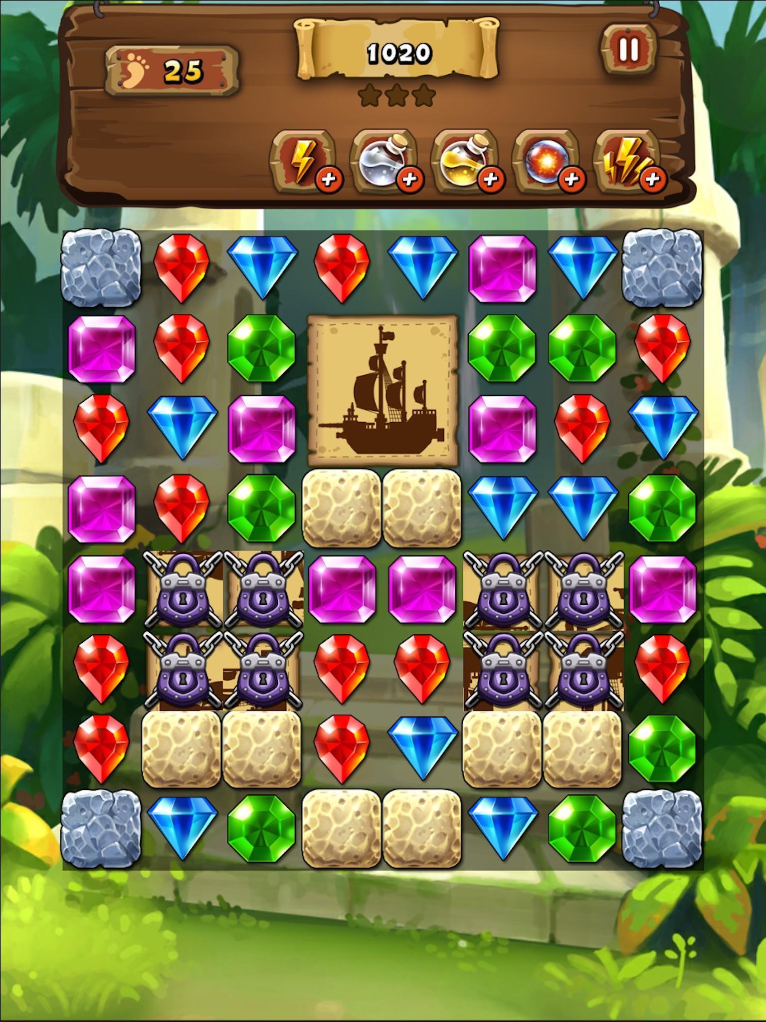 宝石海盗船安卓破解版v1.0.2.4截图0