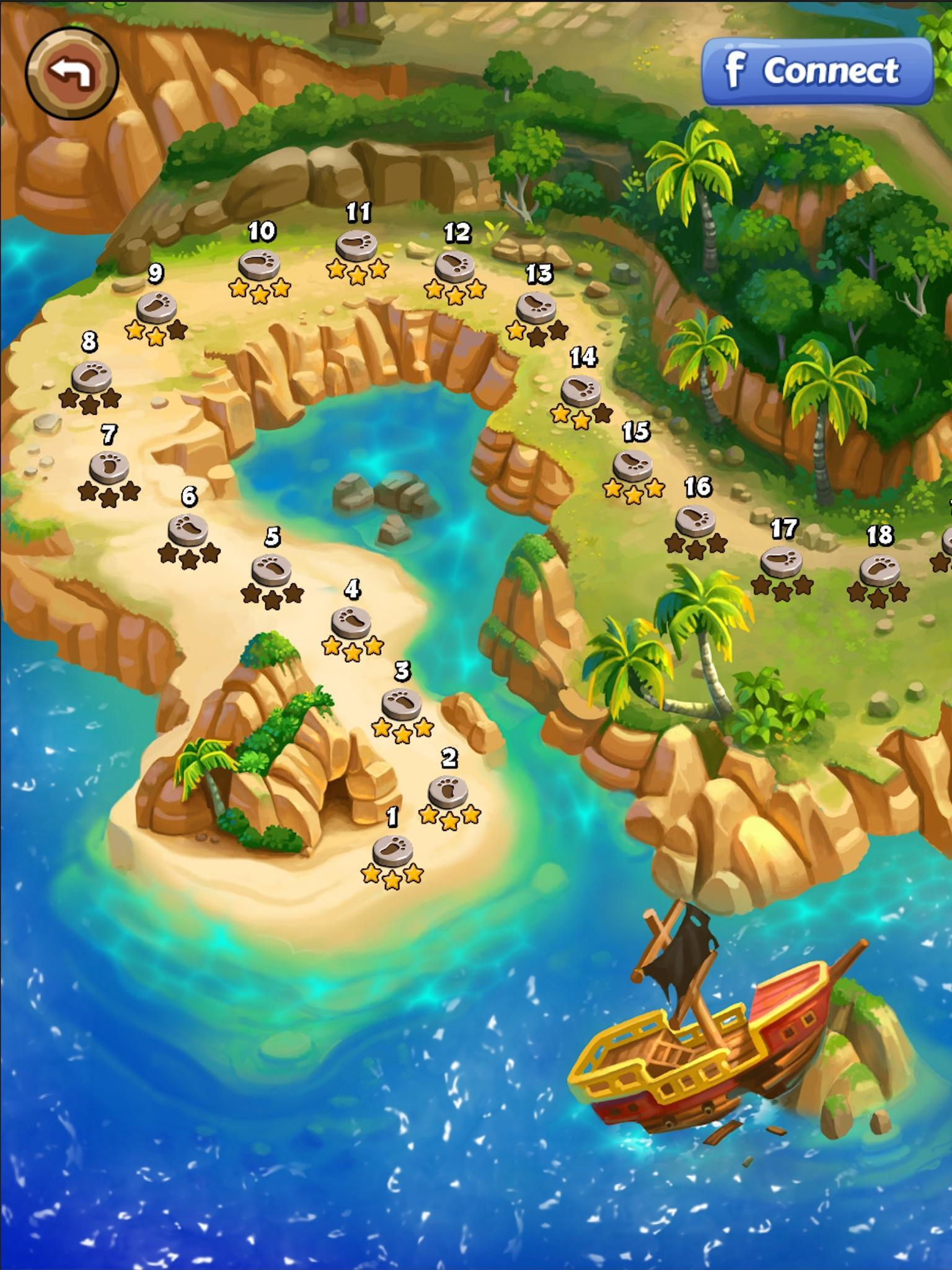 宝石海盗船安卓破解版v1.0.2.4截图4
