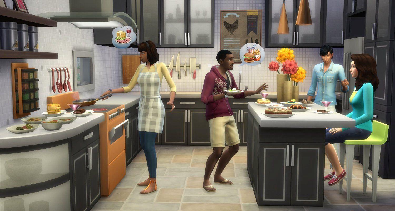 模拟人生4:冰酷厨房PC破解版截图3