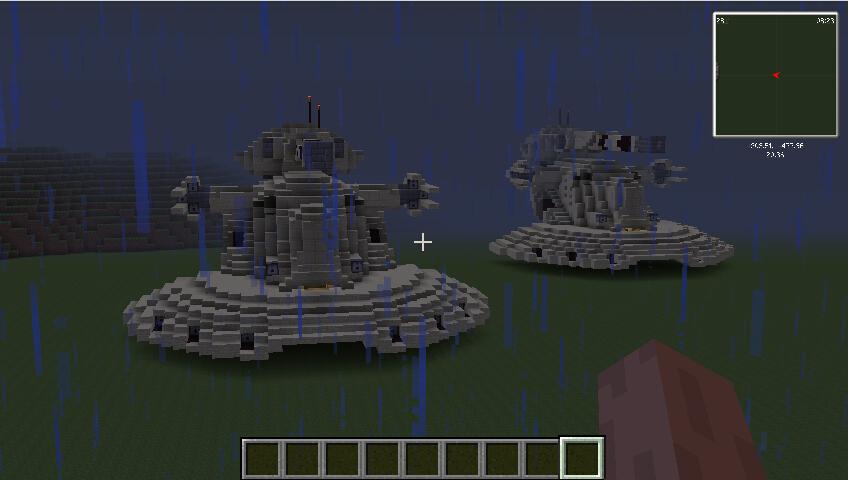 我的世界星球大战战车大全MOD