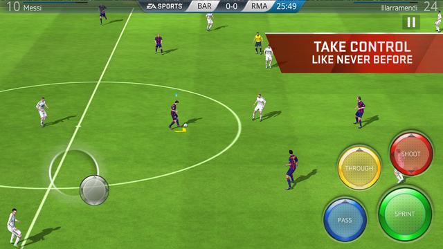 FIFA16 ios越狱版v1.1.99259_截图1