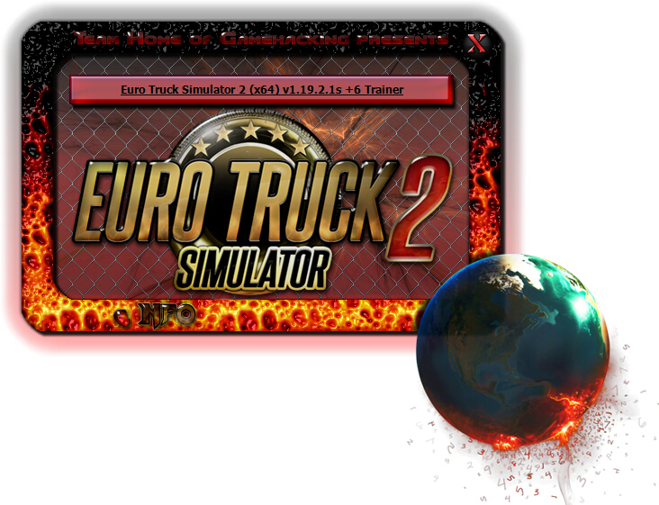 欧洲卡车模拟2v1.19修改器+6
