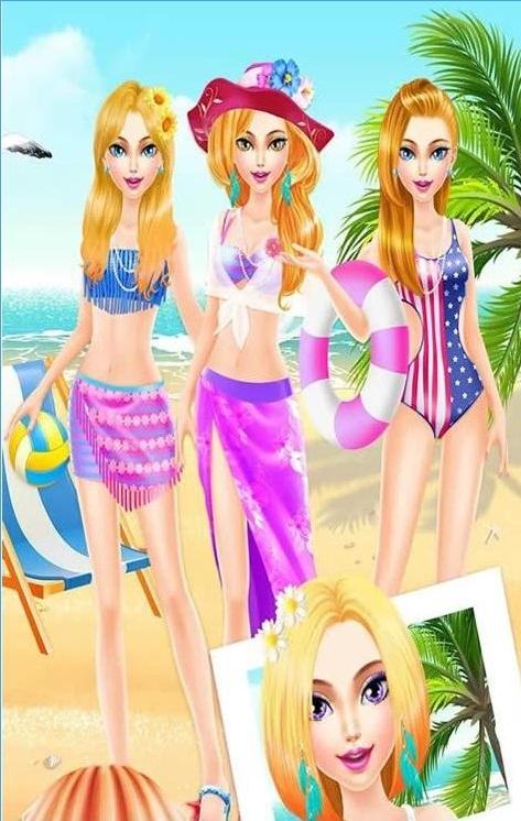 海滩时尚沙龙破解版装扮v1.0截图0