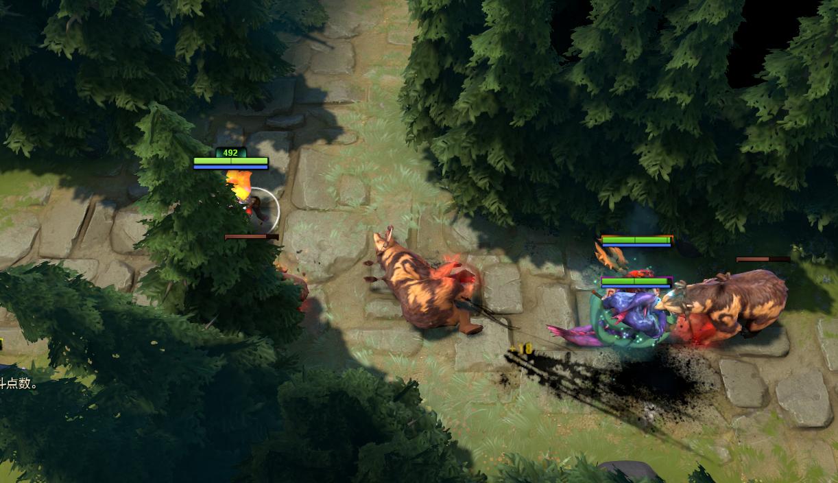 攻略秘籍游戏攻略→dota2rpg地图《幽暗丛林肉搏战》详细玩法东京攻略演员表图片