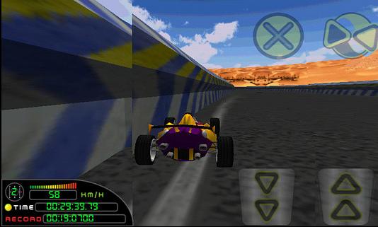 急速赛车金币破解版v1.0.0.4截图1