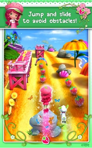 草莓公主甜心跑酷无限金币版v1.0.3截图1