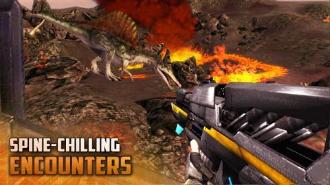 恐龙猎人:空中炮艇破解版截图0