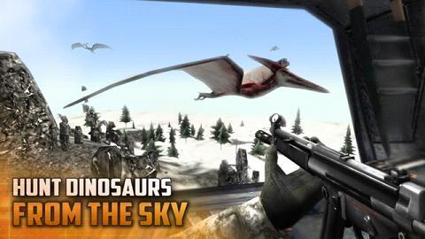 恐龙猎人:空中炮艇破解版_截图1