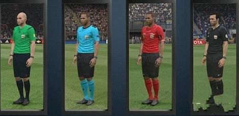实况足球2016 4套裁判员球衣补丁