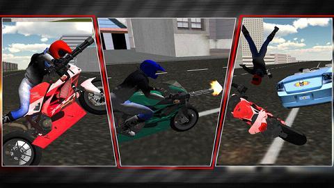 摩托车骑手死亡竞赛3D破解版_截图1