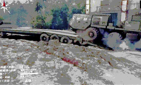 旋转轮胎奥什科什越野卡车MOD