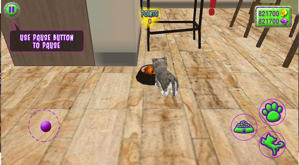 疯狂的宠物猫3D安卓破解版截图3