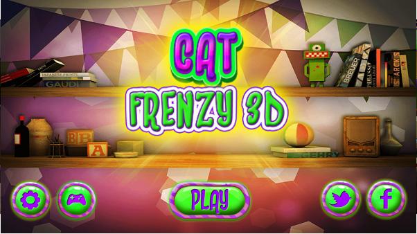 疯狂的宠物猫3D安卓破解版截图0
