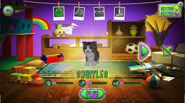疯狂的宠物猫3D安卓破解版截图1