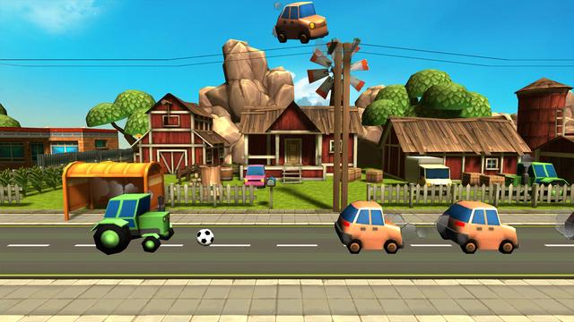 汽车足球射击挑战赛ios官方版v1.0.0截图4