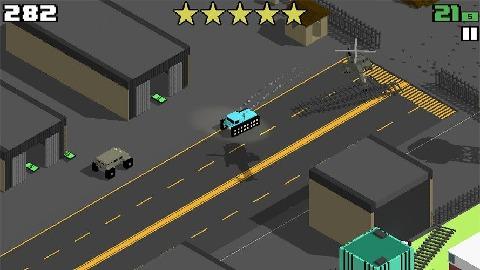 像素公路狂飙完美版截图1