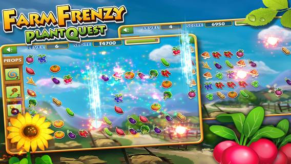 疯狂农场:水果连连看IOS版v1.1_截图1