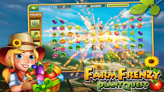 疯狂农场:水果连连看IOS版v1.1_截图2