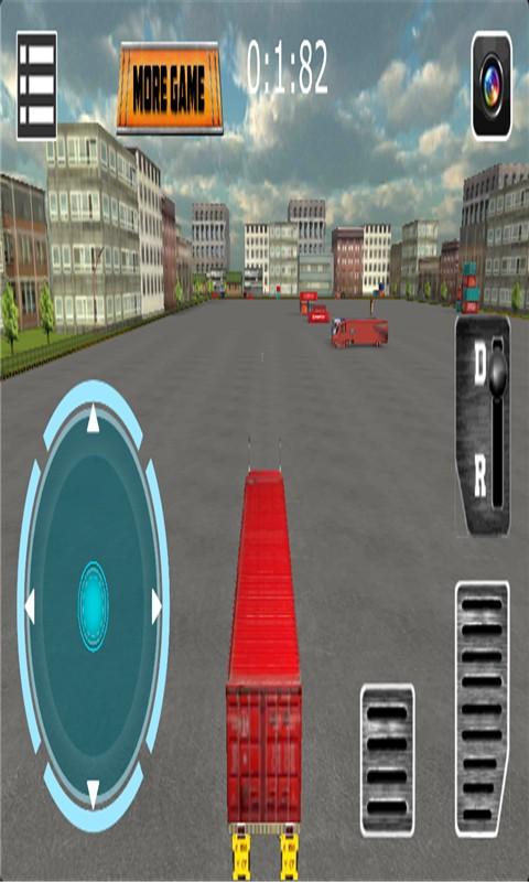 重型卡车3D停车手游v3.0_截图0