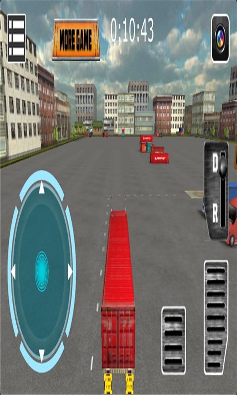 重型卡车3D停车手游v3.0_截图1