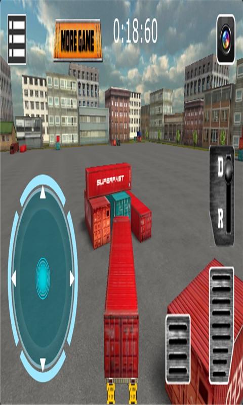 重型卡车3D停车手游v3.0_截图2
