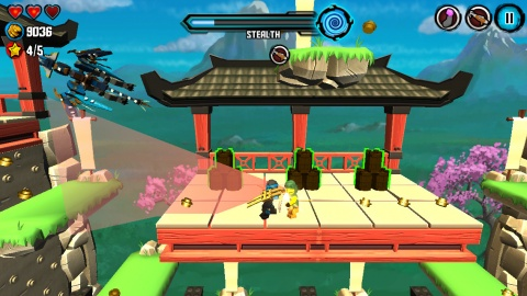 乐高忍者:天际飞行 LEGO Ninjago: Skybound IOS版v4.0.271_截图2