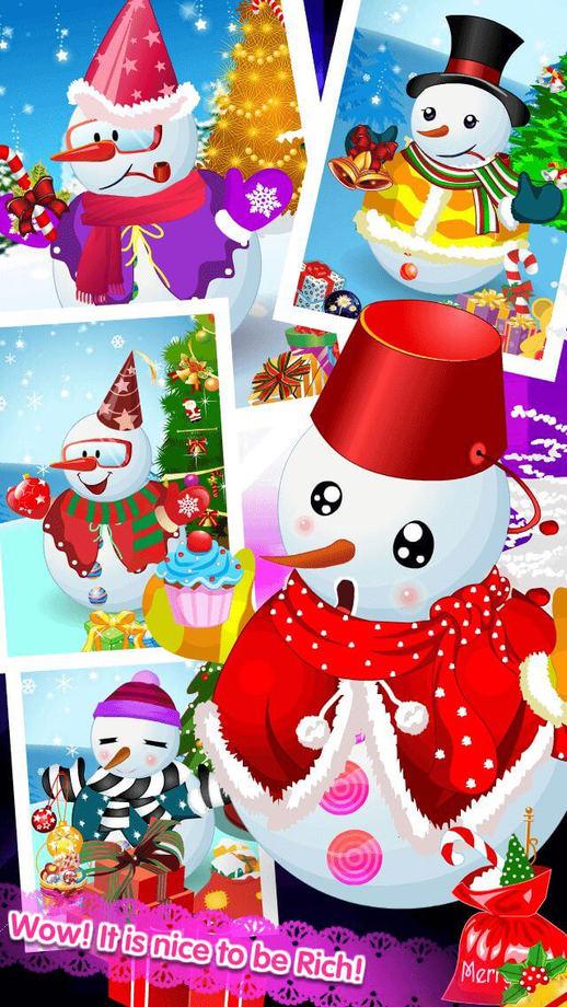 可爱的雪人ios中文版v1.0截图1