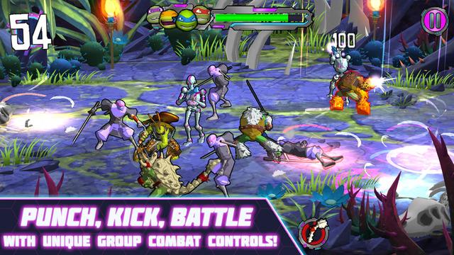 忍者神龟:电门ios免付费版v1.0截图1