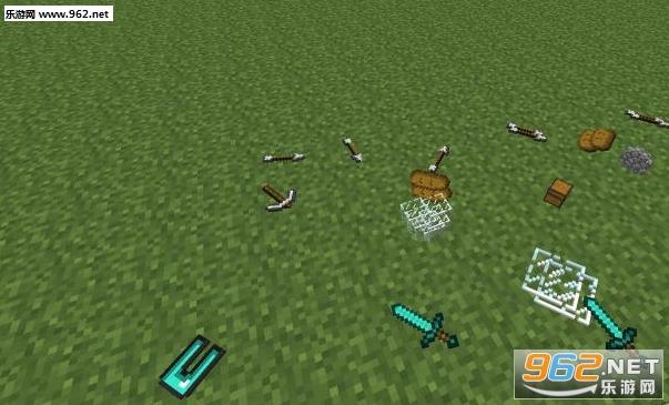 我的世界1.9.4真实物品掉落mod下载 乐游网游戏下载
