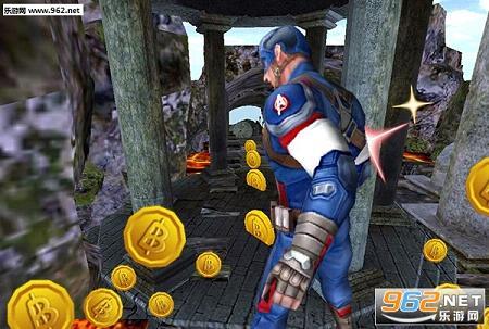 《美國隊長跑酷無限金幣破解版》,是一款風格和風靡全球的手機游戲神廟逃亡十分類似的游戲,畫面精美,人物制作精細,玩家可以通過不斷的奔跑來收集金幣和一些道具,趣味性十足,喜歡的同類型游戲的朋友不妨試試。