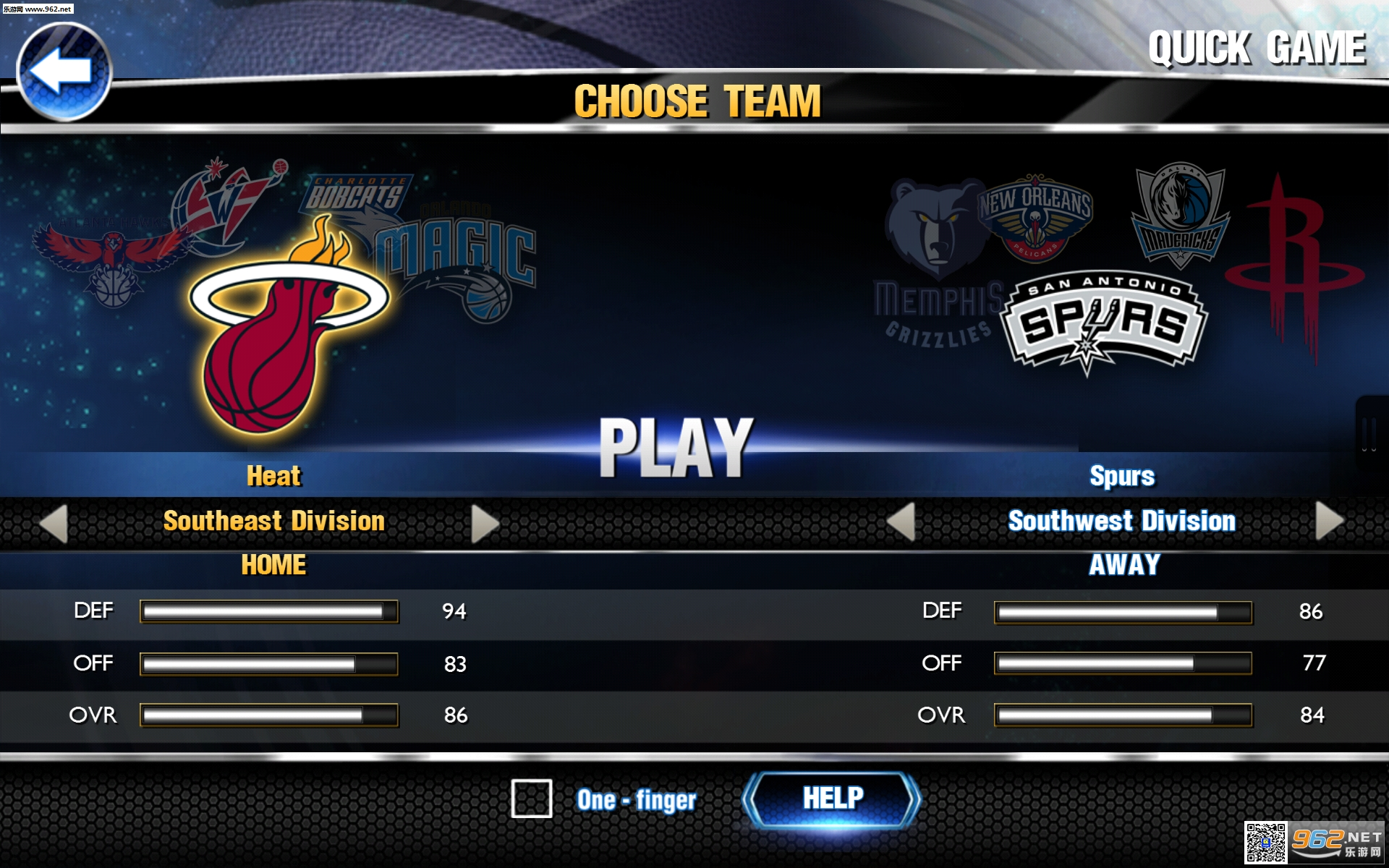 NBA2K14中文版手机版_截图