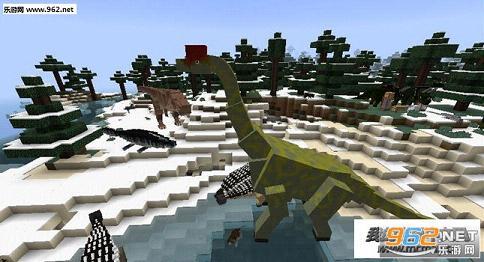 我的世界1.7.10侏罗纪公园整合包中文版截图1