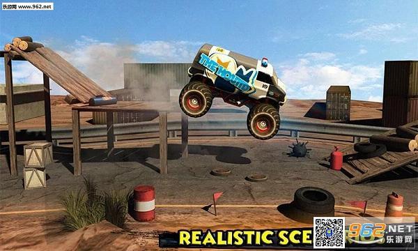 怪物卡车骑士3D无限金钱修改版v1.2_截图2