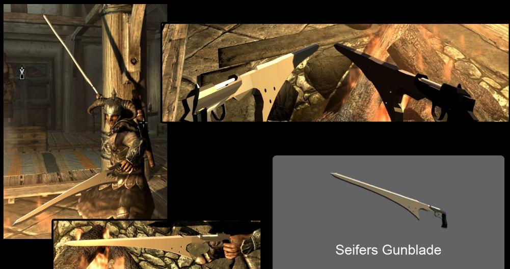 上古卷轴5:天际重制版最终幻想武器MOD