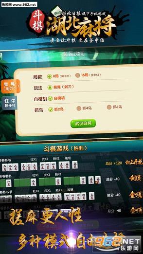 斗棋湖北麻将iOS版v2.44截图2