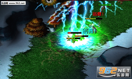 魔兽RPG地图 侠客风云传1.7.4破解版 P闪+无CD+隐藏英雄密码截图2