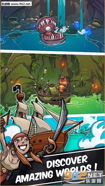 海盗点击者 Clicker Pirates购买强加版v1.0.6_截图0