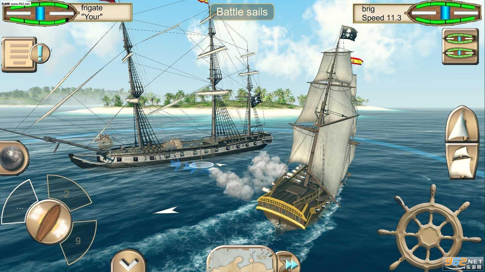 海盗:加勒比海亨特中文版v2.6_截图0